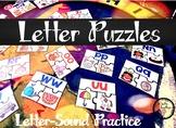 Letter Puzzles: Letter-Sound Practice