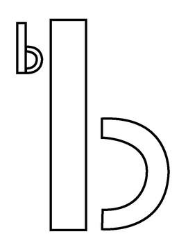 Letter Puzzles - Build a Letter