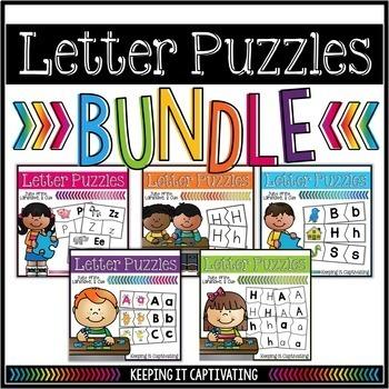 Letter Puzzles Bundle