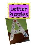 Letter Puzzles A-Z