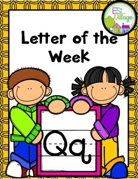 """Letter of the Week (Letter """"Q"""")"""