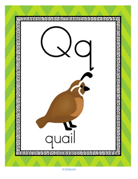 Alphabet Q Letter of the Week Phonics Recognition, Sound, Tracing & Craftivities