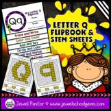 Letter Q Alphabet Flip Book (Alphabet Interactive Notebook
