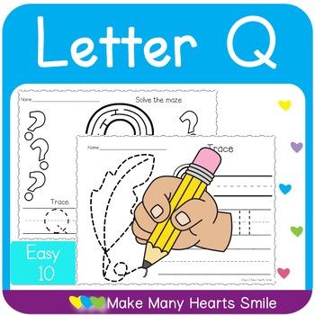 Easy 10: Letter Q