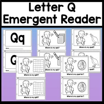 Letter Q Activities {Letter Q Book and 5 Letter Q Worksheets!}
