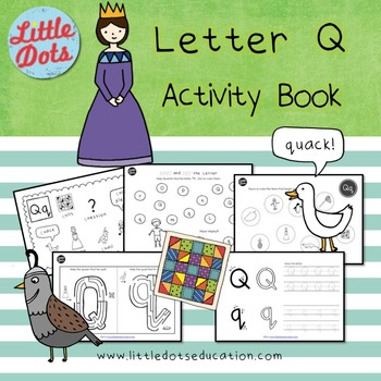 Letter Q Activities and Worksheets