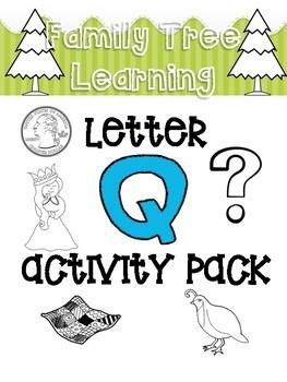 Letter Q Activity Pack!