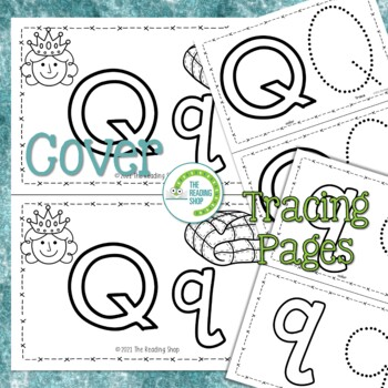 Letter Q Alphabet Book - Letter of the Week - ABC Book