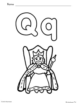 Letter Q Unit - Differentiated Letter Writing Pages & Activities