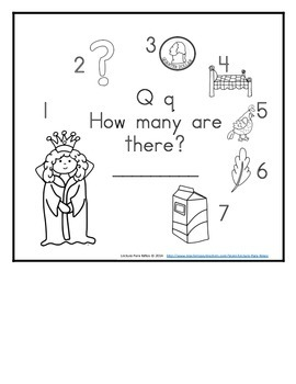 Letter Q Counting Books