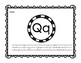 Letter Q Book: Handwriting Practice