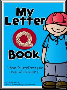 Letter Q Book of Beginning Sounds-Emergent Reader w/R Reco