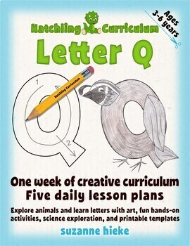 Letter Q Bundle: 1 Week Of Complete Curriculum Lessons