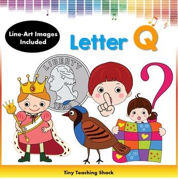 Letter Q Clip Art