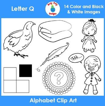 Letter Q Clip Art Set