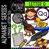 Letter Q {Creative Clips Digital Clipart}