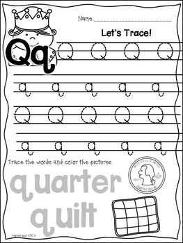 Letter Q {Letter of the Week}