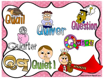 Letter of the week- Letter Q- NARRATIVE (TALKING) Power Point Presentation