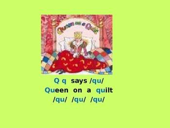 Letter Q PowerPoint