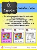 Letter Q Puzzles: Australian Edition