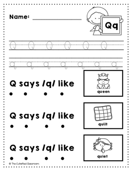Letter Q Review