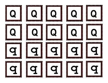 Letter Q Sort