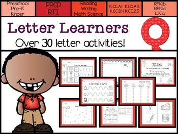 Letter Learners: Letter Q