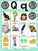 Letter Q Vocabulary Cards