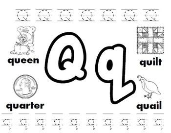 Letter Q Worksheets! by Kindergarten Swag | Teachers Pay ...