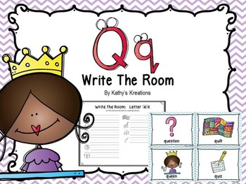 Letter Q Write The Room