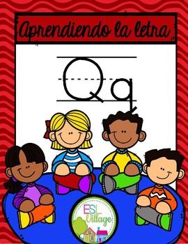 Aprendiendo la Letra Q