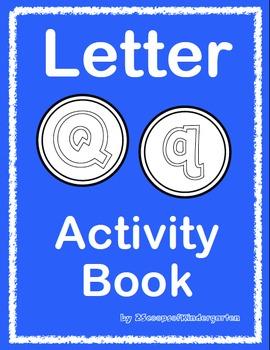 Letter Qq Activity Book
