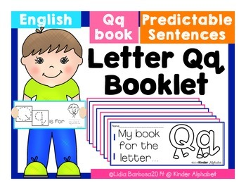 Letter Qq Booklet- Predictable Sentences