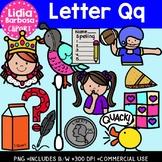 Letter Qq Digital Clipart