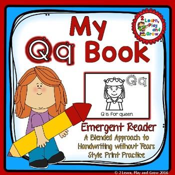 Letter Qq Emergent Reader for Letter Recognition