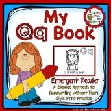 Letter Q Letter Recognition Emergent Reader