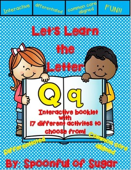 Letter Qq- Interactive Activities Booklet