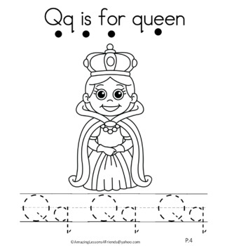 Letter Qq Journal for Toddlers