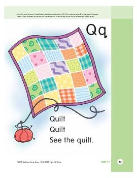 Letter Qq (Quilt)