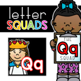 Letter Qq Squad: DAILY Letter of the Week Digital Alphabet