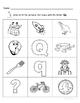 Letter Qq Words Coloring Worksheet