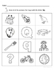 Letter Qq Words Coloring Worksheet