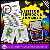 Letter R Alphabet Flip Book (Alphabet Interactive Notebook
