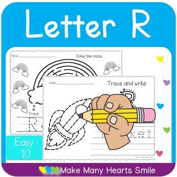 Easy 10: Letter R