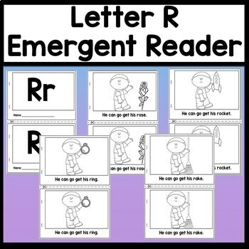 Letter R Activities {Letter R Book and 5 Letter R Worksheets!}