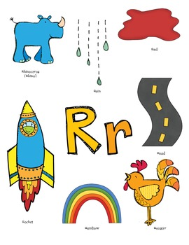 Letter R Activity Packet