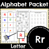 Letter R Activity and Center Packet