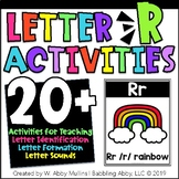 Letter R Alphabet Activities   Recognition, Formation, and Sounds