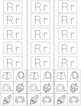 Letter R: Alphabet Activity Book