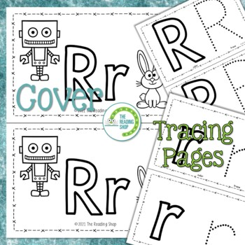 Letter R Alphabet Book - Helps Students Learn Letters and Sounds - ABC Book
